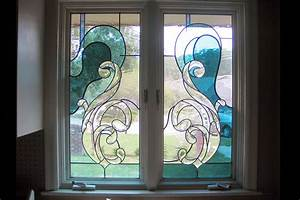 Custom Stained Glass Windows - Painted Light Stained Glass