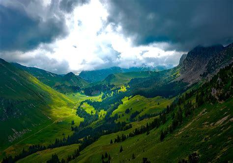 Free photo: Valley Landscape - Cloud, Cloudy, Dark - Free ...