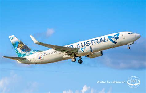 air austral reservation siege boeing 737 800 air austral plan cabine visite en 360