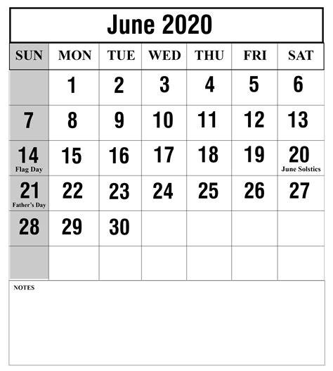 blank june printable calendar excel word