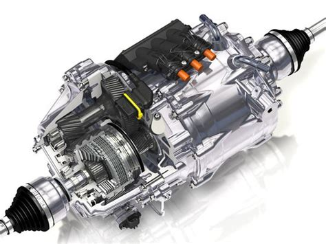 Electric Motor System by Automakers Testing New Gkn Electric Torque Vectoring