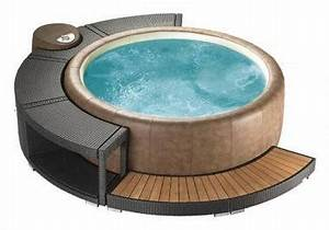 marinoir 5 8 whirlpoolumrandung mocca fur softub 300 With whirlpool garten mit markise balkon amazon