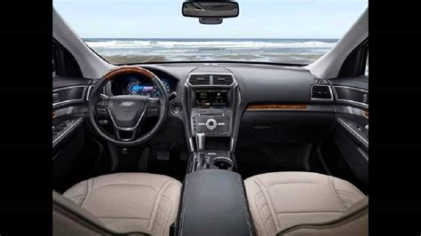 Next Ford Explorer Redesign by 2017 Ford Explorer Redesign Interior And Exterior