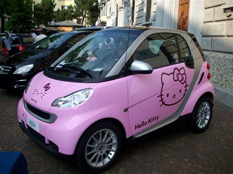 pink hello kitty smart car « primo piano