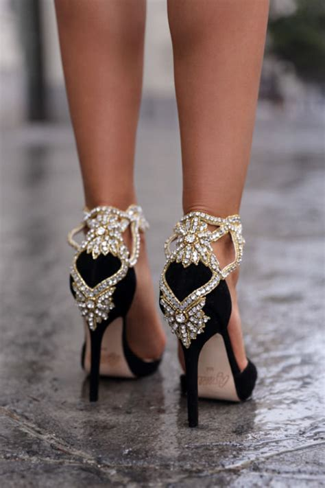 diamond studded high heels pictures   images