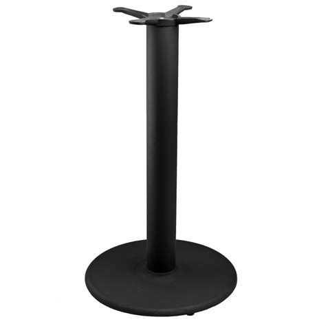 Tr18 Black Table Base Counter Height 34 1 2