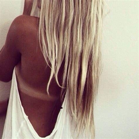 Hair Blonde Tan Line Hair Pinterest Tans Hair And