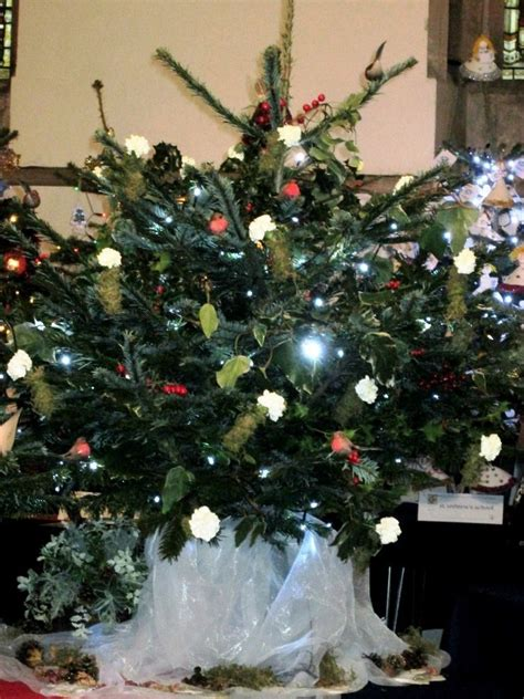 christmas tree festival december 2013 bedford floral art