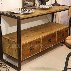 Meuble En Fer : meuble en bois et fer forge ~ Melissatoandfro.com Idées de Décoration