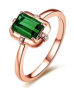 emerald and engagement rings designer 1 carat emerald and engagement ring in gold jewelocean