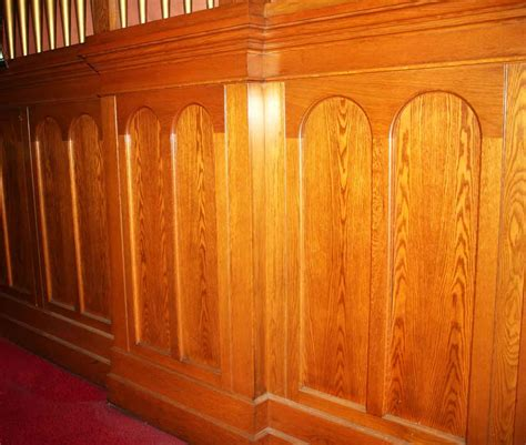 Wainscoting Wood Panels by Oak Wainscot Paneling Olde Things