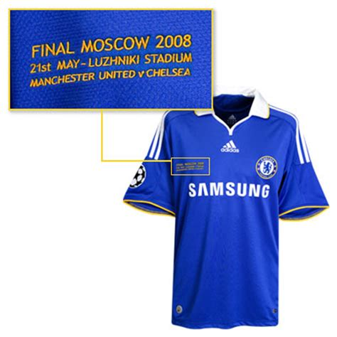 man utd  chelsea champions league final kits