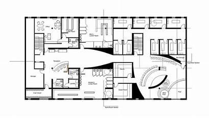 Spa Floor Plan Salon Studio Project Hotel