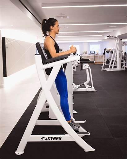 Gym Machines Leg Using Hanging Raise Workouts