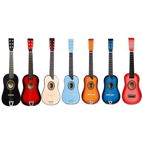 guitar colors small acoustic guitar great gift for assorted colors