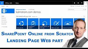 Create Gantt Chart Online Sharepoint List Landing Page With Web Part Youtube