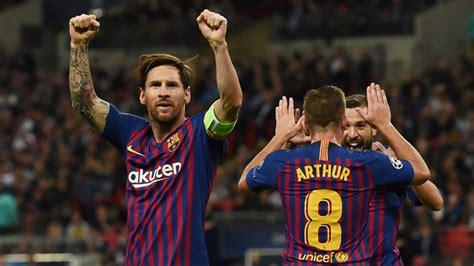Tottenham vs Barcelona, en directo - Champions 2018-19 ...