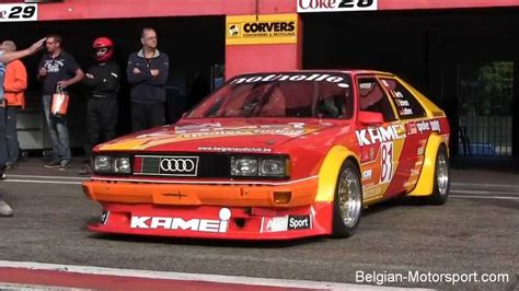 audi coupe kamei  youngtimer test  zolder  high