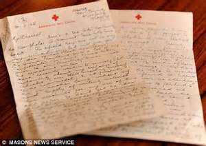 Love letter sent World War Two finally delivered 64 YEARS late