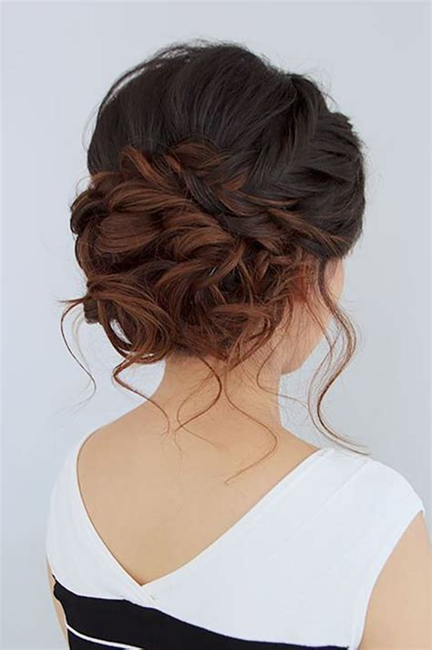glamorous wedding updos   pretty designs