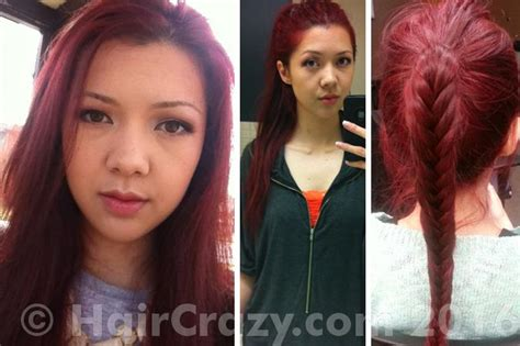 Brown Hair To Red Without Bleaching Using L'oreal