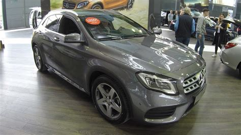 mercedes benz gla  model  facelift mountain