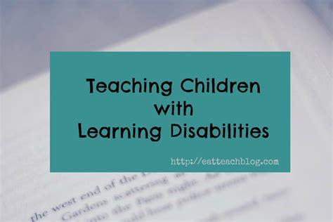 teaching children learning disabilities