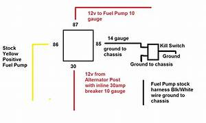 Fuel Sending Unit Blk  White Wire Fried  Need Help Asap