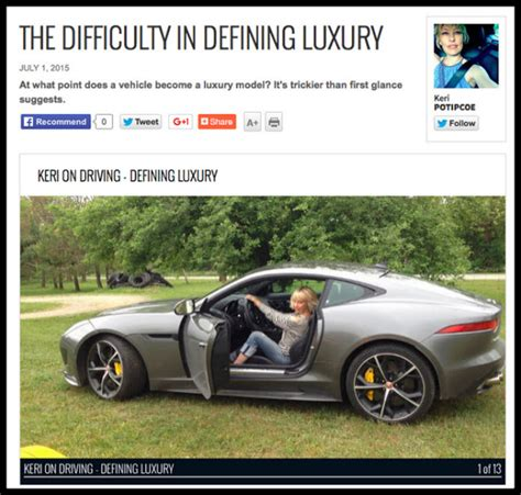 Trying To Define What Makes A Luxury Vehicle  The Co