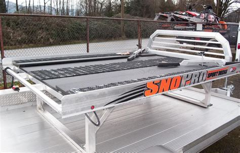 sno pro sled deck weight 2015 sled deck sno pro 8 all aluminum 3 595