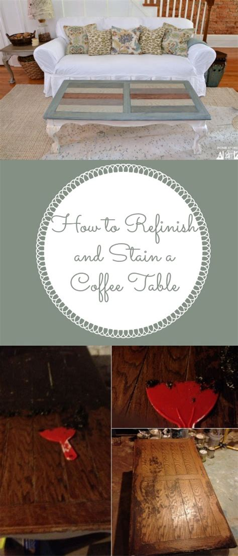 How To Refinish And Stain A Table