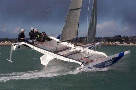 Safran Bateau Macif by Navigations Hivernales Pour Tester Foils Et Safran Pour
