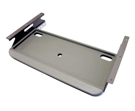 New Slide Keyboard Holder Underdesk Keyboard Drawer In/out /tray/stand/desk Gray