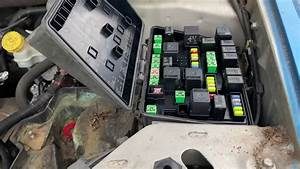 Chrysler Pacifica Fuse Box And Relay Location  2004