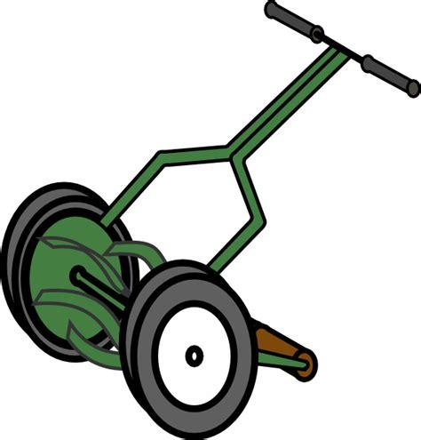 Lawn Mower Clip Push Reel Lawn Mower Clip At Clker