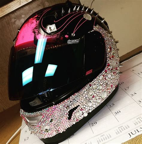 helmet designs how to bling the crap out of your helmet