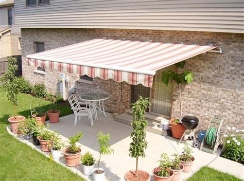Residential Patio Retractable Awning Contemporary-outdoor