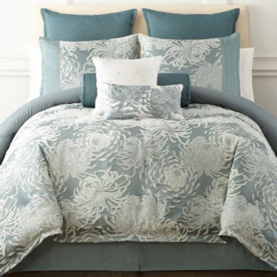 liz claiborne imperial  pc comforter set color blue