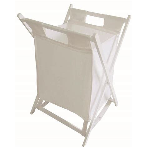 solid wood table legs white folding wooden laundry basket at home