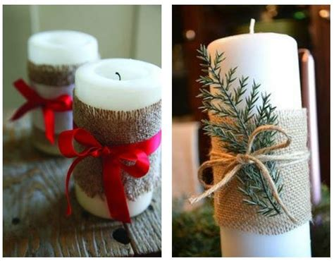 candele albero di natale candele natalizie decorate fai da te the house of