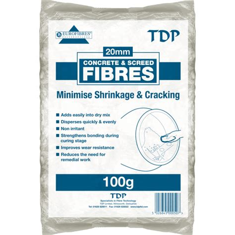 tdp concrete screed fibres