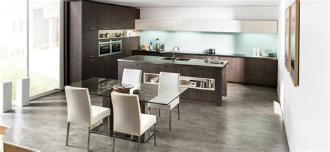 exemple cuisine ouverte cuisine en l moderne avec îlot en 108 photos magnifiques