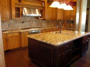 kitchen island with granite countertop furniture granite material for countertop options