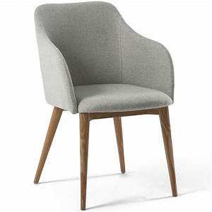 But Chaise Scandinave : chaise avec accoudoir design scandinave varm gris clair achat vente chaise gris cdiscount ~ Teatrodelosmanantiales.com Idées de Décoration