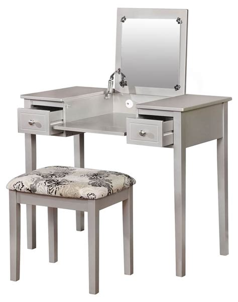 makeup vanity set walmart bedroom vanities walmart