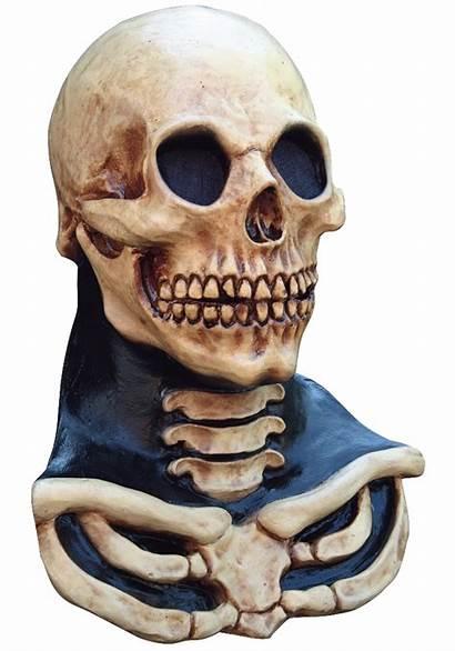 Skull Mask Scary Neck Skeleton Masks Halloween