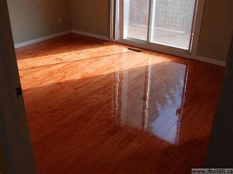 my bathroom floor sand and stained plywood sub floor