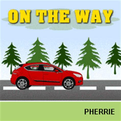 dp animasi bbm gif otw naik mobil animasi bergerak