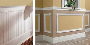 Interior wall trim ideas decorative wall moldings design for Unique interior trim ideas