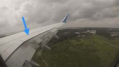 Spoilers Roll Aircraft Animation Plane Wing Flight